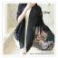 PR028-C ผ้าพันคอแฟชั่น ผ้าไหม พิมพ์ลายสวย น่ารัก งานสวยคะ ขนาด กว้าง 90 ยาว 185 cm. thumbnail 2