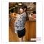 PR049 ผ้าพันคอแฟชั่น ผ้าฝ้าย แบบบาง พิมพ์ลายสวย ขนาด ยาว 170 กว้าง 80 cm. thumbnail 4