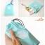 GB115 ถุงผ้า ใช้ใส่สิ่งของต่างๆ จัดระเบียบกระเป๋า เวลาเดินทางท่องเที่ยว (1 แพ็ค บรรจุ 4 ชิ้น ) thumbnail 4