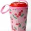 แก้วเก็บความเย็น สะดวกสบายด้วยหูหิ้ว ลาย Hello Kitty เชอร์รี่ บนพื้นชมพู เก็บความเย็นได้กว่า 5 ชั่วโมง thumbnail 2
