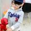 ชุดเซ็ทเด็ก เสื้อแขนยาวมีฮูทเห่ห์ๆ + กางเกงขายาว สไตล์เกาหลี thumbnail 2