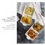 Pre-Order ชามอาหารเซรามิค ทรงถาดสองช่อง มีหู thumbnail 9