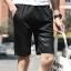 กางเกงขาสั้นแฟชั่นเกาหลี ลายทาง : สีดำ thumbnail 1