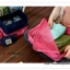GB038 กระเป๋าผ้า จัดระเบียบกระเป๋าเดินทาง ใส่เสื้อผ้า ผ้าเช็ดตัว ผ้าขนหนู ของใช้ สามารถพับเก็บได้ สำหรับพกพาเดินทางท่องเที่ยว thumbnail 5