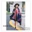 PR0072 ผ้าพันคอแฟชั่น ผ้าขนสัตว์เทียม ผ้าหนา อย่างดี พิมพ์ลายสวย หรู งานสวยคะ ขนาด กว้าง 65 ยาว 190 cm. thumbnail 5