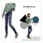 LG026 กางเกงเลคกิ้ง ลายยีนส์ ขายาว เข้ารูป สวยเท่ห์ มีหลายลายให้เลือกคะ thumbnail 17