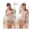 WG015 เสื้อกล้ามซับในเต็มตัว ผ้าลูกไม้ สวยหวาน มี 3 สี ขาว ครีม ดำ thumbnail 5