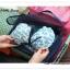 GB038 กระเป๋าผ้า จัดระเบียบกระเป๋าเดินทาง ใส่เสื้อผ้า ผ้าเช็ดตัว ผ้าขนหนู ของใช้ สามารถพับเก็บได้ สำหรับพกพาเดินทางท่องเที่ยว thumbnail 10
