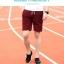 กางเกงขาสั้นแฟชั่นเกาหลี สีแดง ลายตารางในตัว thumbnail 5