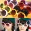 แว่นตา เทห์ๆ สีม่วง-ขาว thumbnail 1