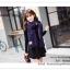 PR095 ผ้าพันคอแฟชั่น ผ้าคลุมไหล่ ผ้าหนา สีกรมท่า พิมพ์ลยสวยขนาด กว้าง 65 ยาว 186 cm. thumbnail 6