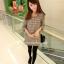 Mini Dress ลายชิโนริ thumbnail 4