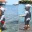 ชุดว่ายน้ำเด็กทารกความสูง 70-120ซม. ลายปลาฉลาม แขนยาว ขายาวถึงเข่า มีฮู้ดเป็นรูปปากฉลามน่ารักมากๆค่ะ thumbnail 3