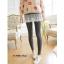 LG002 กางเกงเลคกิ้งขายาว มีผ้าลูกไม้ประดับเป็นกระโปรง หวานน่ารัก มี 4 สี เทาอ่อน เทาเข้ม กรมท่า ดำ thumbnail 12