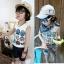 เสื้อกล้ามเด็ก สีเทามีลายหุ่นยนต์ด้านหน้า สไตล์เกาหลี น่ารักสุดๆ thumbnail 1
