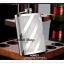 K019N กระป๋องใส่เหล้า มี 2 ขนาด 6 ออนซ์ กับ 8 ออนซ์ สแตนเลสอย่างดี กระป๋อง ขวด ใส่เหล้า ใส่เครื่องดื่ม พิมพ์ลายทแยง คลาสิค thumbnail 1