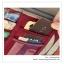 GB062 กระเป๋าใส่ของใช้ ใส่แผ่น CD,DVD สวมกับที่บังแดดรถยนต์ มี 4 สี : สีครีม , สีแดงเลือดหมู , สีฟ้า , สีกรมท่า ขนาด : กว้าง 27 x สูง 14 cm. thumbnail 7