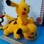 ตุ๊กตาถัก โครเชต์ 001 POKEMON PIKACHU แบบนั่ง ขนาดเล็ก thumbnail 9