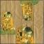 แนวภาพศิลปะ ภาพวาดระดับโลก DER KUSS บนพื้นสีทอง ภาพลายกระจายเต็มแผ่น กระดาษแนพคินสำหรับทำงาน เดคูพาจ Decoupage Paper Napkins ขนาด 21X22cm thumbnail 2