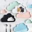 Pre-Order จาน ถ้วยเซรามิคลายเมฆ พร้อมเม็ดฝน มี 5 สี thumbnail 1