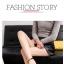 รองเท้า แฟชั่น ส้นสูง สายคล้อง สไตล์เกาหลี J005 thumbnail 6