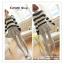 LG051 กางเกงเลคกิ้งขายาว สีเทา มีผ้าประดับเป็นกระโปรง หวานน่ารัก thumbnail 1