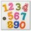 ตัวเลขแม่เหล็ก ลายน่ารัก ฝึกทักษะลูกน้อย 1ชุดมี 10 ตัว thumbnail 1