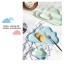 Pre-Order จาน ถ้วยเซรามิคลายเมฆ พร้อมเม็ดฝน มี 5 สี thumbnail 8