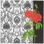 แนวภาพดอกไม้ เป็นช่อดอกกุหลาบบนพื้นหลัง เป็นภาพครึ่งแผ่น กระดาษแนพกิ้นสำหรับทำงาน เดคูพาจ Decoupage Paper Napkins ขนาด 33X33cm thumbnail 1
