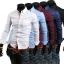 เสื้อเซิ้ต สำหรับผู้ชาย สไตล์เกาหลี JN001 thumbnail 3