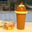 Pre-Order แก้วทำเสลอปี้ น้ำแข็งเกร็ดหิมะ ไอศกรีม แบบง่ายๆ ไม่ต้องใช้น้ำแข็ง ไม่ต้องปั่น เพียงแค่บีบๆ ก็ได้กินเสลอปี้รสที่ชอบแล้ว มี 3 สี thumbnail 2