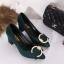 รองเท้า แฟชั่น เกาหลี หัวตัวC J004 thumbnail 5