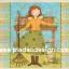 กระดาษสาพิมพ์ลาย สำหรับทำงาน เดคูพาจ Decoupage แนวภาำพ การ์ตูน เจ้าหญิงน้อย นักทำความสะอาด กวาดใบไม้ในสวน (ปลาดาวดีไซน์) thumbnail 1
