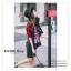 PR0072 ผ้าพันคอแฟชั่น ผ้าขนสัตว์เทียม ผ้าหนา อย่างดี พิมพ์ลายสวย หรู งานสวยคะ ขนาด กว้าง 65 ยาว 190 cm. thumbnail 6