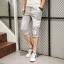 กางเกงขาสั้น3ส่วน JOGGER GREY/WHITE STRIPED thumbnail 4