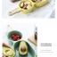 Pre-Order ชามสลัด ชามผลไม้ ของหวาน เซรามิค ทรงไม้ลูกชิ้น มี 4 สี thumbnail 6