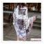 PR115 ผ้าพันคอแฟชั่น ผ้าคลุมไหล ลายสวย เก๋ งานดี ผ้าฝ้าย ขนาด 180*100 ซม. thumbnail 3