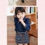 Huanzhu kids ชุดเดรสยีนส์สาวน้อยพร้อมผ้าพันคอค่ะ สไตล์เด็กเกาหลี น่ารัก thumbnail 2