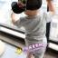 ชุดแฟชั่นเด็ก 2 ชิ้น เสื้อสีเทา สกีนหน้าอก + กางเกง น่ารัก สไตล์เกาหลี(เด็ก 6 เดือน-3ขวบ ค่ะ) ขนาด5 thumbnail 3