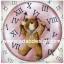 กระดาษสาพิมพ์ลาย rice paper เป็น กระดาษสา สำหรับทำงาน เดคูพาจ Decoupage แนวภาพ น้องหมี เท็ดดี้ แบร์ teddy bear ผู้ควบคุมเวลา ถือเข็มสั้นเช็มยาวเตรียมประกอบนาฬิกา (pladao design) thumbnail 1