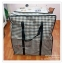 GH069 กระเป๋าจัดเก็บเสื้อผ้า ใส่ผ้าห่ม ผ้าเช็ดตัว ของใช้ต่างๆ ป้องกันฝุ่น ผ้าทอเคลือบกันน้ำ(#60) thumbnail 1