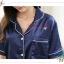 SP100 ชุดนอนเซต ชุดนอนเสื้อแขนสั้นคู่กางเกงขาสั้น มี 2 สี สีชมพู สีน้ำเงิน ผ้าซาติน ผ้าลื่นใส่สบายคะ เสื้อเป็นคอปก กระดุมผ่าหน้า มีกระเป่าด้านหน้า 1 ข้าง เอวยางยืดคะ thumbnail 15