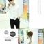 เสื้อเชิ๊ต แฟชั่นเกาหลี เสื้อผ้าทอม#01[Pre-Order] thumbnail 9