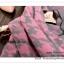 PR096 ผ้าพันคอแฟชั่น ผ้าหนา ช่วงปลายประดับด้วยริ้ว อย่างดี งานสวยคะ ขนาด กว้าง 65 ยาว 190 cm. thumbnail 7