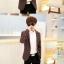 เสื้อสูทแฟชั่นเกาหลี รุ่นลายสก๊อต thumbnail 5
