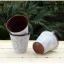 พร้อมส่ง ถัง กระถางต้นไม้สังกะสีมีหูหิ้ว ทำสีพื้นเก่า Zakka thumbnail 5