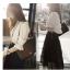 ชุด เสื้อเชิ้ต คูู่ กระโปรง ทรงยาว JN005 thumbnail 2