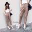 หมดค่ะ:กางเกงขายาวเอวสูงทรงเกาหลี น่ารักมากค่ะ ผ้าดีมากนะคะ ใส่ทำงานได้ ใส่เที่ยวก็ได้ค่ะ thumbnail 4