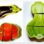 ของเล่นไม้จิ๊กซอว์ไม้หั่นผักและปลา thumbnail 3