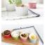 Pre-Order ชามเซรามิค ใส่ขนม พุดดิ้ง ซุเฟร่ ไอศกรีม ขนาดเล็ก ลายริ้วคลาสสิค มีให้เลือก 7 สี Zakka thumbnail 6